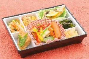 豆腐ステーキ カニカマあん