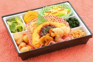 鮭のバジル風味焼き