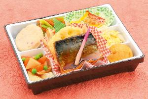 鮭の七味焼き