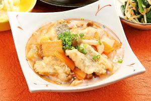 野菜と鶏肉の味噌照り炒め