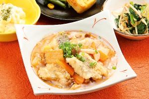 サワラごま味噌焼き