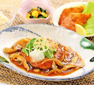 ブリと菜の花の味噌鍋