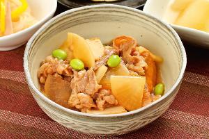 豚肉と里芋の甘辛炒め