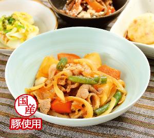 野菜たっぷりビビンバ炒め