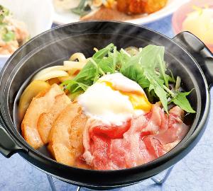 鶏団子の旨塩ちゃんこ鍋