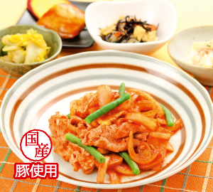 豆腐とチンゲン菜の旨煮